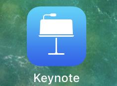 Keynoteを起動する