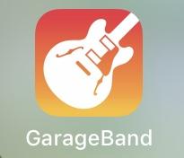 GarageBandを起動する