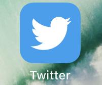 iphoneのTwitterアプリアイコン
